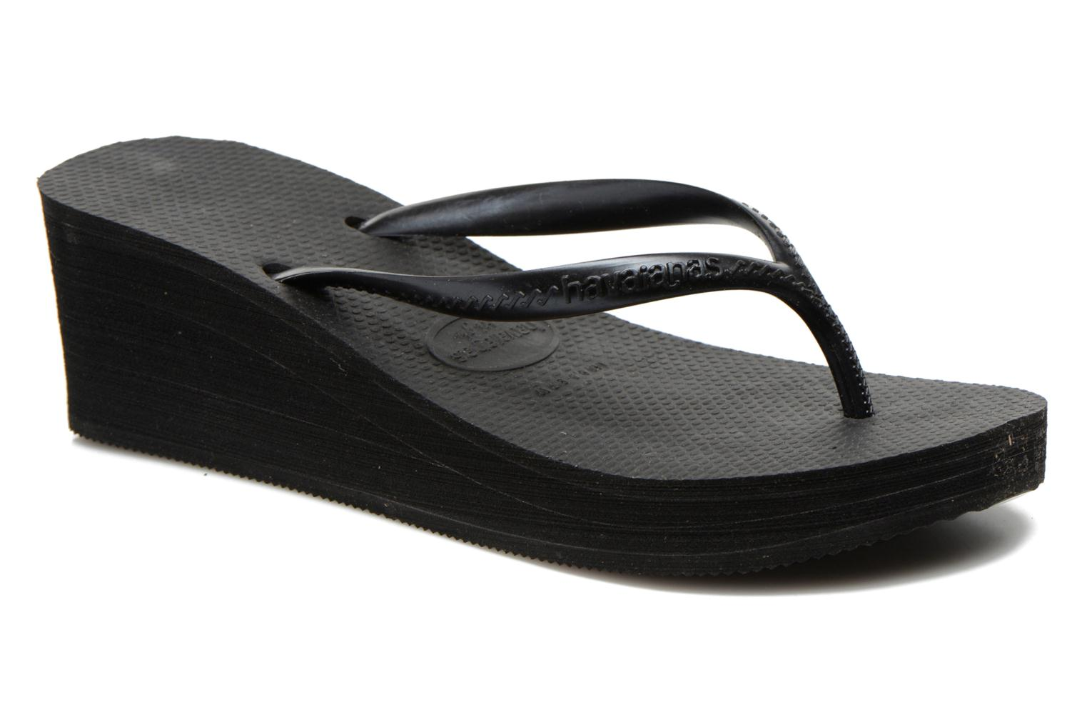 Tongs Havaianas High Fashion Noir vue détail/paire