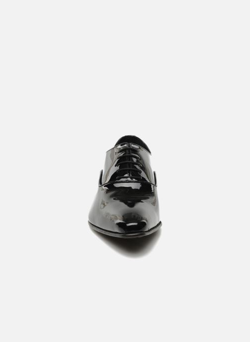 Schnürschuhe Brett & Sons Dandi schwarz schuhe getragen
