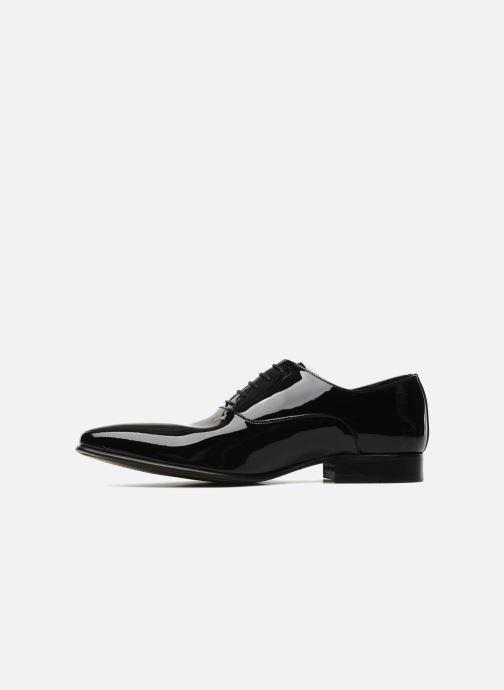 Schnürschuhe Brett & Sons Dandi schwarz ansicht von vorne