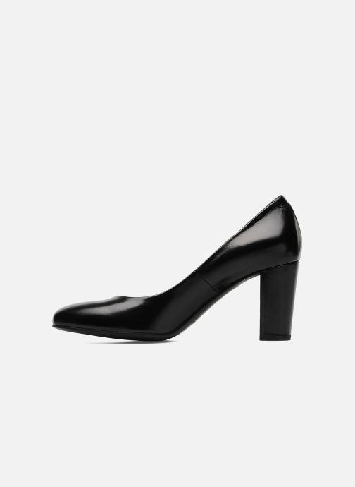 Zapatos de tacón Perlato Paty Negro vista de frente