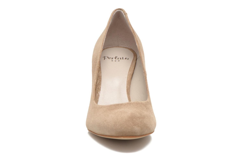 Escarpins Perlato Paty Beige vue portées chaussures