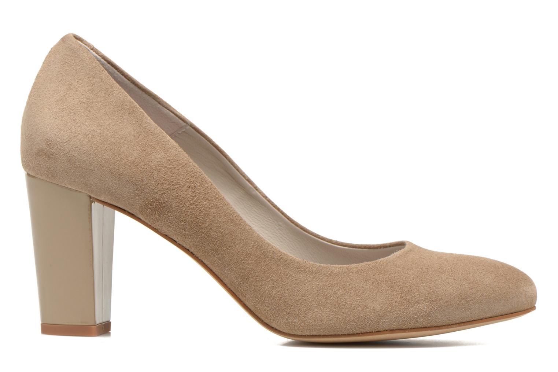 High heels Perlato Paty Beige back view