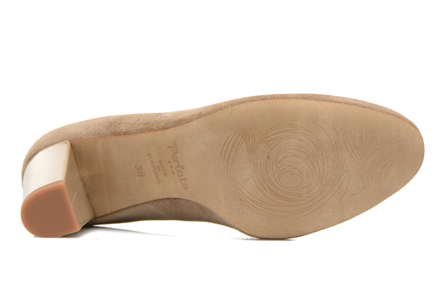 High heels Perlato Paty Beige view from above
