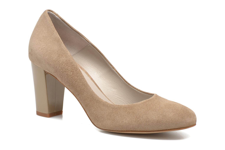 High heels Perlato Paty Beige detailed view/ Pair view