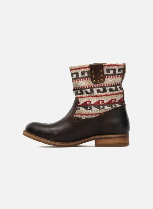 Ankle boots Koah Dalia Brown front view