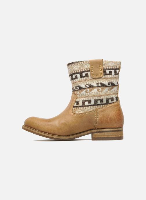 Bottines et boots Koah Dalia Beige vue face