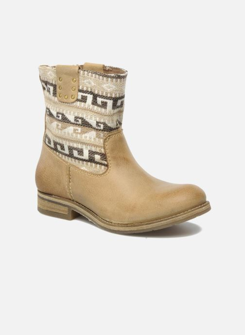Ankle boots Koah Dalia Beige detailed view/ Pair view