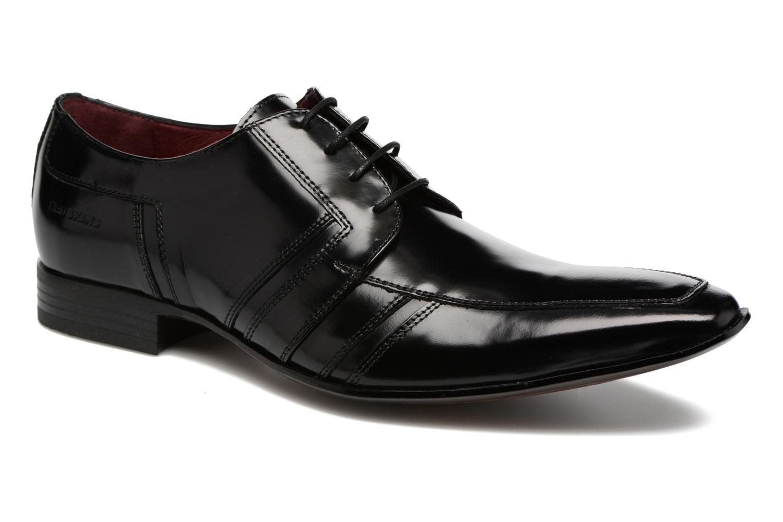 Snøresko Redskins Horus Sort detaljeret billede af skoene