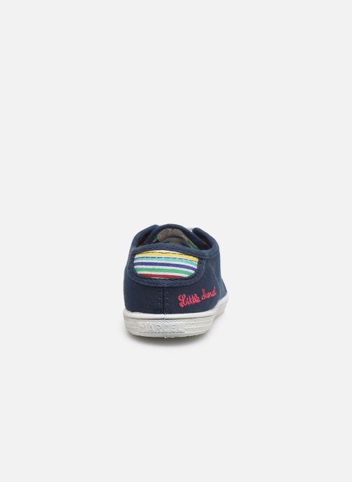 Sneaker Little Marcel Benilace Uni J blau ansicht von rechts
