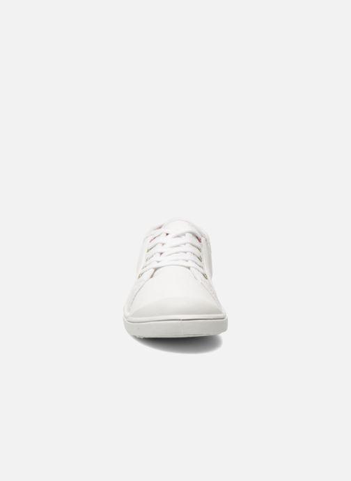 Baskets Little Marcel Benilace Uni J Blanc vue portées chaussures