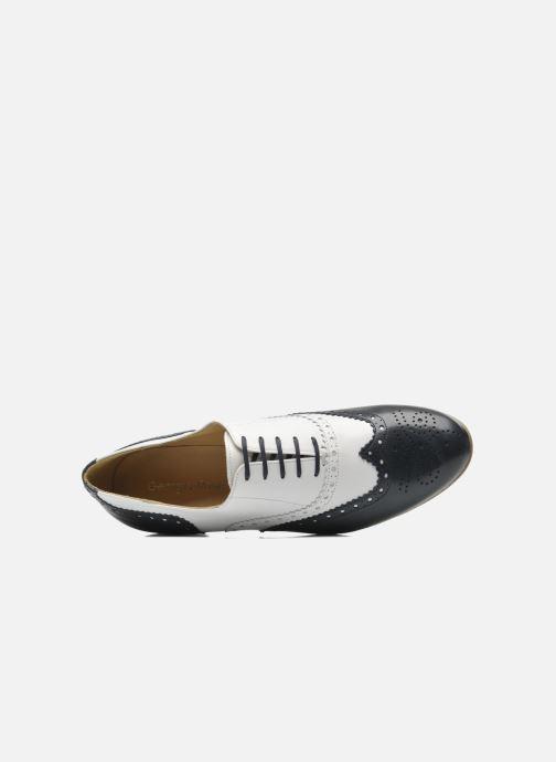 Chaussures à lacets Georgia Rose Paralia Bleu vue gauche