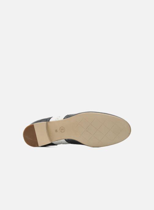 Chaussures à lacets Georgia Rose Paralia Bleu vue haut