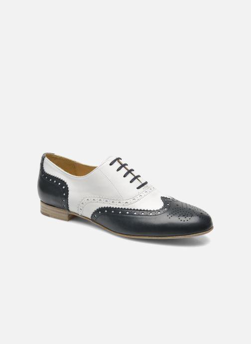 Chaussures à lacets Georgia Rose Paralia Bleu vue détail/paire