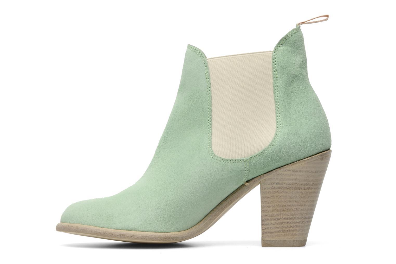Bottines et boots Georgia Rose Parfino Vert vue face