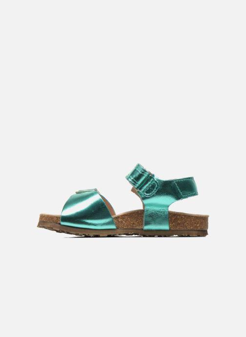 Sandalen Stones and Bones Cleo grün ansicht von vorne