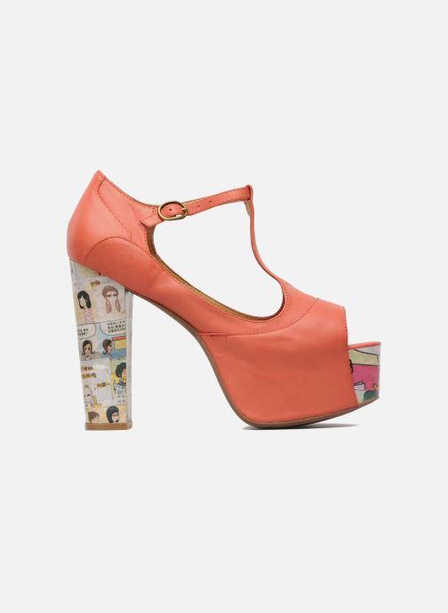 Sandales et nu-pieds Jeffrey Campbell Foxy - Cartoon Heel Orange vue derrière