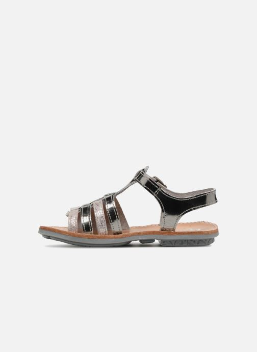 Sandals Minibel Chana Silver front view