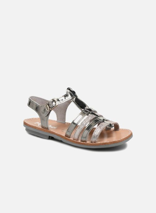 Sandals Minibel Chana Silver detailed view/ Pair view