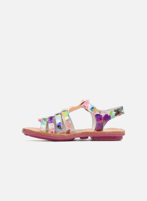 Sandalias Minibel Chana Multicolor vista de frente
