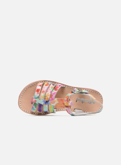 Sandalias Minibel Chana Multicolor vista lateral izquierda