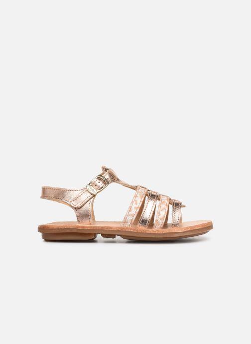 Sandales et nu-pieds Minibel Chana Argent vue derrière