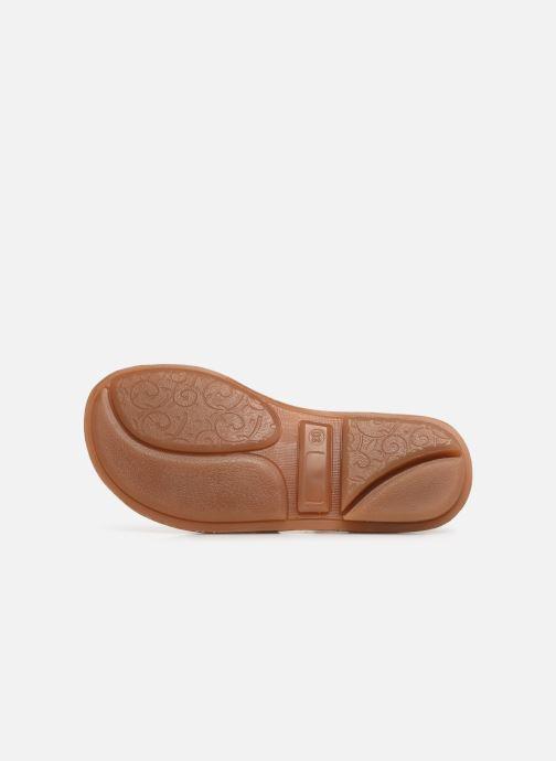 Sandales et nu-pieds Minibel Chana Argent vue haut