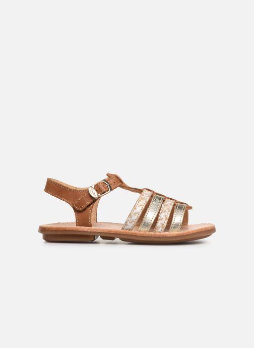Sandales et nu-pieds Minibel Chana Marron vue derrière