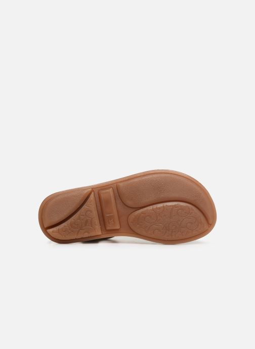 Sandales et nu-pieds Minibel Chana Marron vue haut