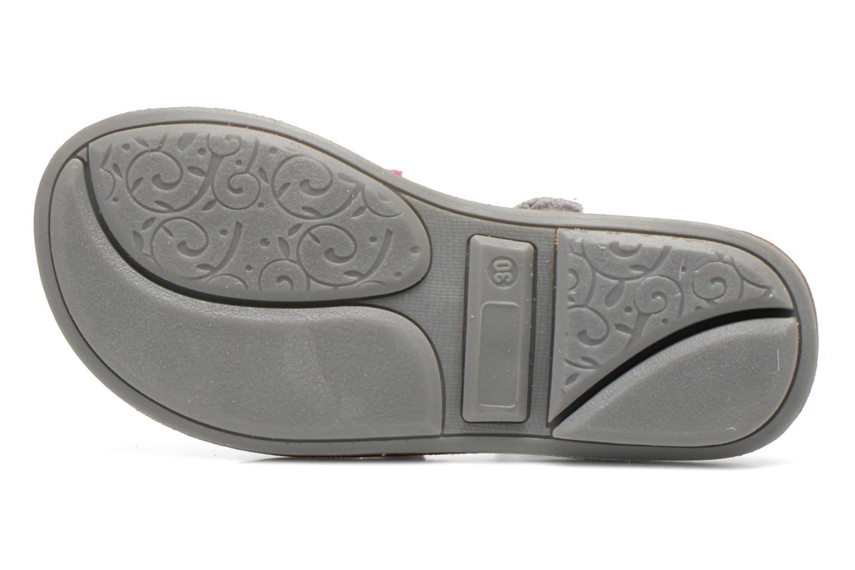 Sandales et nu-pieds Minibel Chana Blanc vue haut