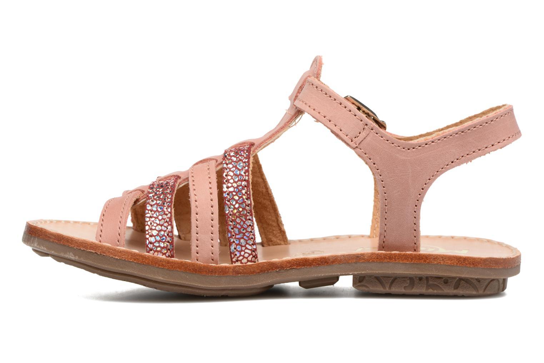Sandales et nu-pieds Minibel Chana Rose vue face
