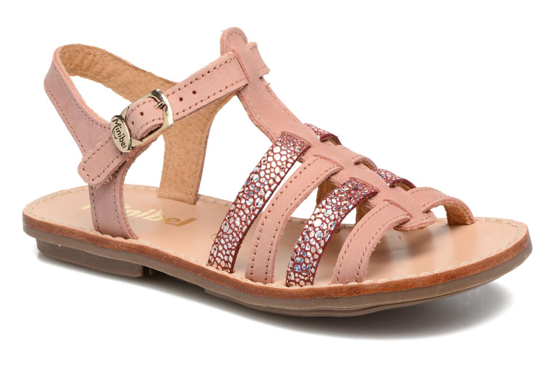 Sandales et nu-pieds Minibel Chana Rose vue détail/paire