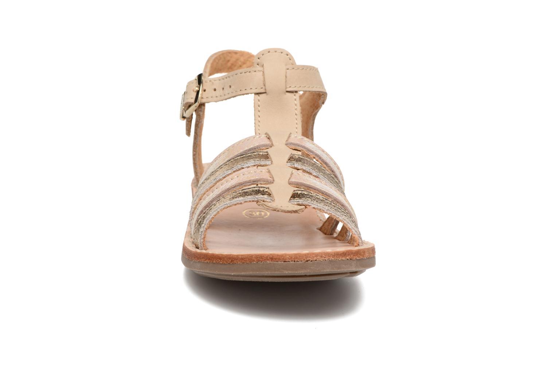 Sandales et nu-pieds Minibel Chana Or et bronze vue portées chaussures