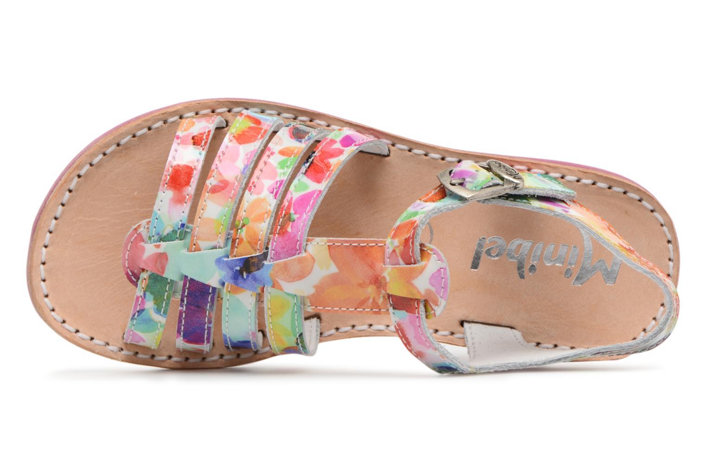 Sandales et nu-pieds Minibel Chana Multicolore vue gauche