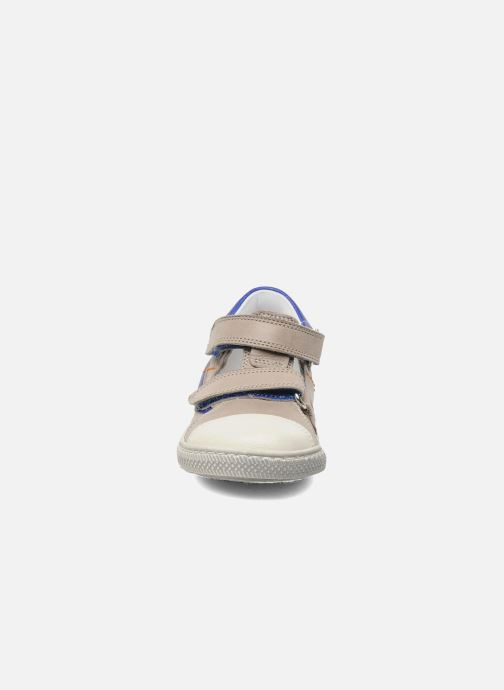 Velcro shoes Rondinella Pierrot Grey model view