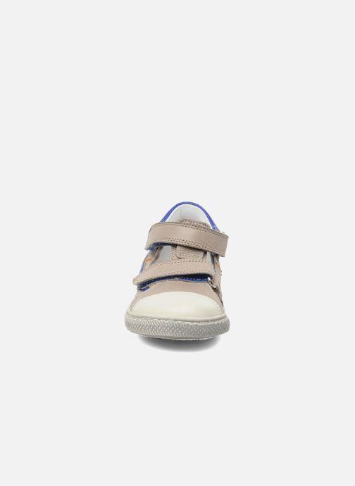 Chaussures à scratch Rondinella Pierrot Gris vue portées chaussures