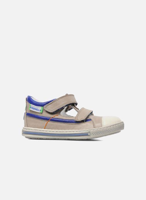 Chaussures à scratch Rondinella Pierrot Gris vue derrière
