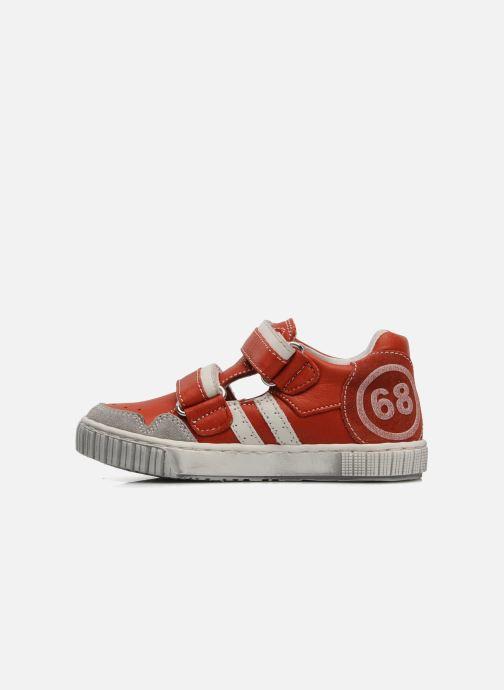 Sneakers Romagnoli Nathan Rød se forfra