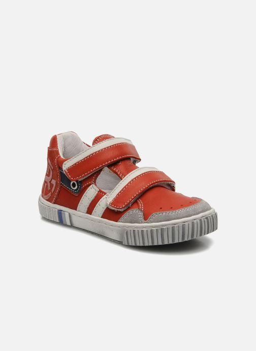 Sneakers Romagnoli Nathan Rød detaljeret billede af skoene
