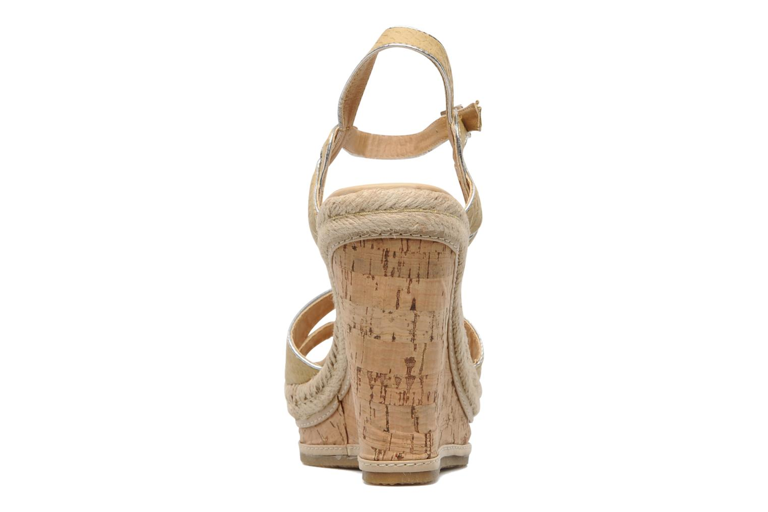 Sandals Latinas Cloti Beige view from the right