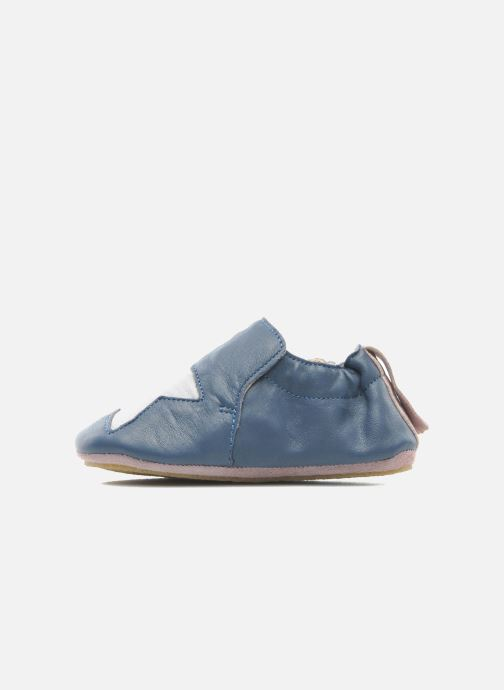 Chaussons Easy Peasy Blublu Patin Etoile Bleu vue face