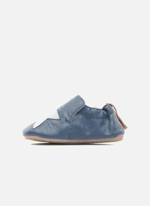 Pantofole Easy Peasy Blublu Patin Etoile Azzurro immagine frontale