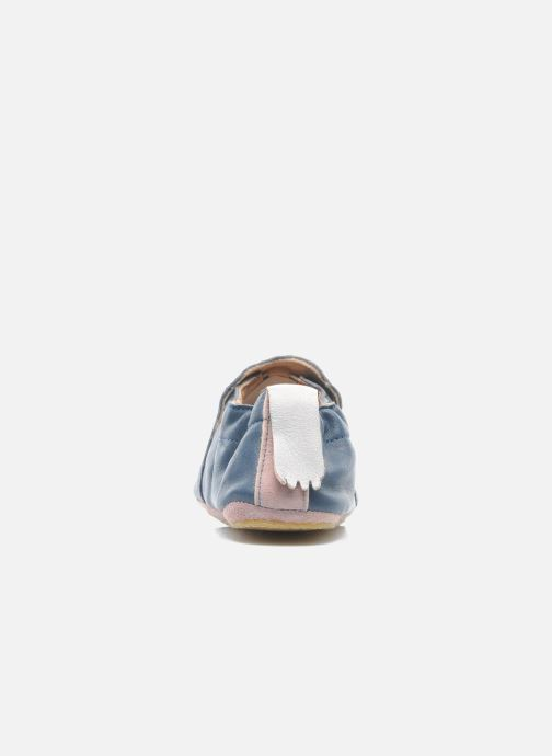 Slippers Easy Peasy Blublu Patin Etoile Blue view from the right