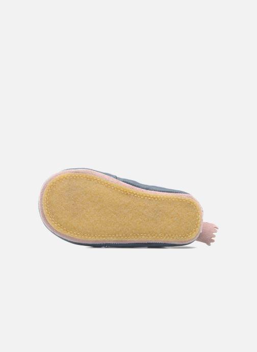 Pantofole Easy Peasy Blublu Patin Etoile Azzurro immagine dall'alto