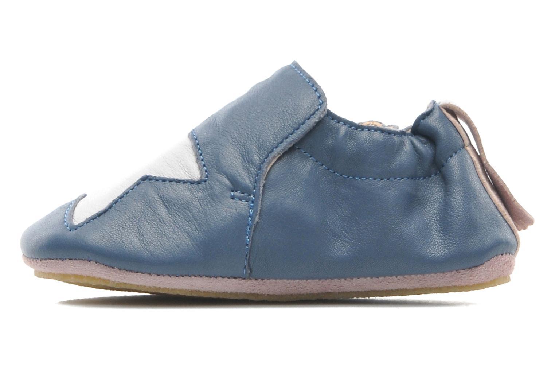 Chaussons Easy Peasy Blublu Patin Etoile Bleu vue face