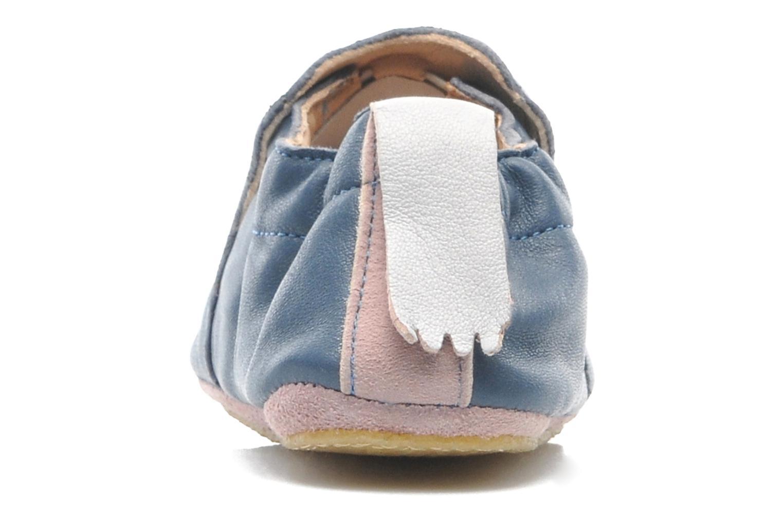 Chaussons Easy Peasy Blublu Patin Etoile Bleu vue droite