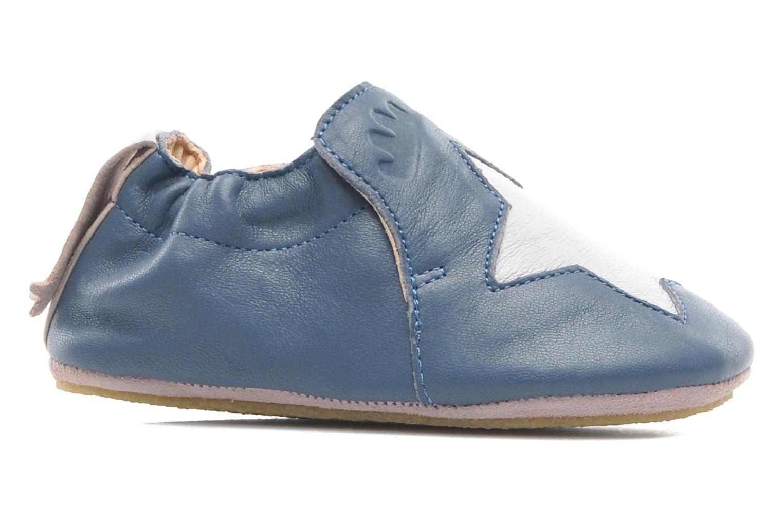 Chaussons Easy Peasy Blublu Patin Etoile Bleu vue derrière