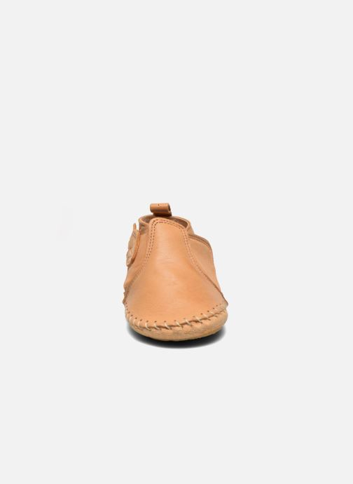 Slippers Easy Peasy Bomok Patin Aile Brown model view