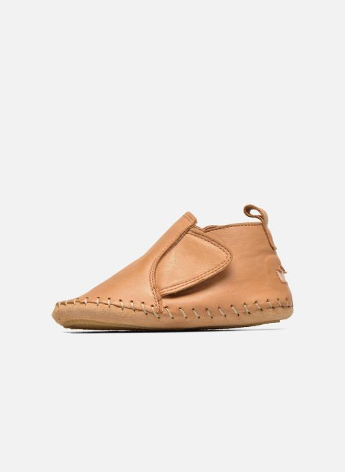 Slippers Easy Peasy Bomok Patin Aile Brown front view