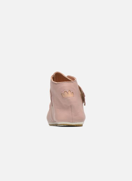 Chaussons Easy Peasy Kiny Patin Etoile Rose vue droite