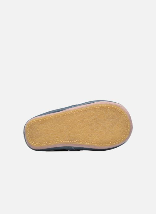 Slippers Easy Peasy Kiny Patin Etoile Blue view from above
